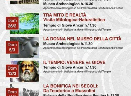 Visite guidate gratuite al tempio di Giove e al museo cittadino il 25 febbraio.