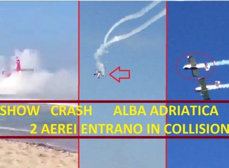 """Video: """"Nel 2015 un incidente anche all'Air Show di Alba Adriatica"""". Polemiche sulla sicurezza"""