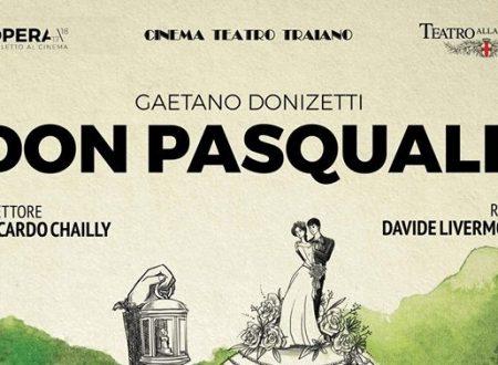 """Terracina, Cinema Teatro Traiano: in diretta dalla Scala di Milano il """"Don Pasquale"""" di Donizetti. Il 19 aprile alle ore 20"""